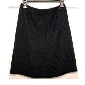 CHANEL Knee-Length Wool Skirt
